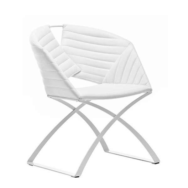 fauteuil design pied m tal portofino midj 4 pieds tables chaises et tabourets. Black Bedroom Furniture Sets. Home Design Ideas