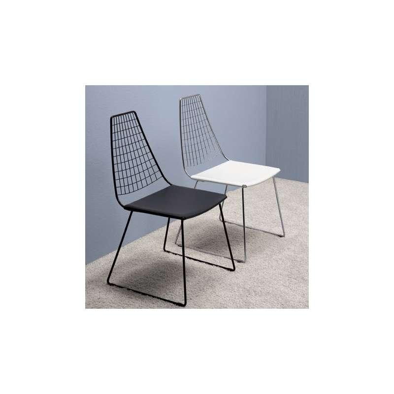 4 pieds vente en ligne for Chaise grillage design