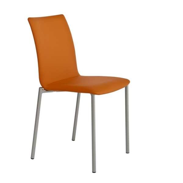 Chaise moderne en métal et synthétique - Pro'G