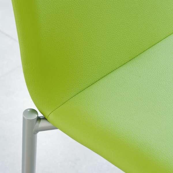 Chaise moderne en métal et tissu - Pro'G 9 - 9
