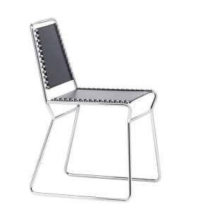 Chaise design en métal et batyline Nuda Midj®
