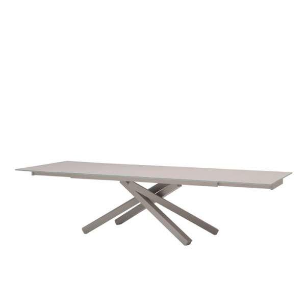 Table design en verre Péchino extensible Midj® 160cm x 90cm - 3