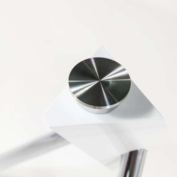 Table en verre design carré Tundra - 120 cm x 120 cm - 5