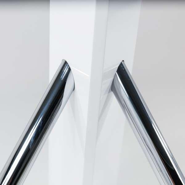 Table en verre design carré Tundra - 120 cm x 120 cm - 8