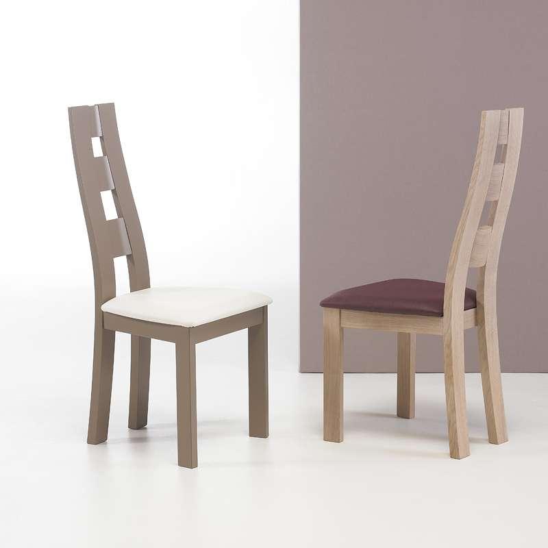 chaise de s jour contemporaine fabrication fran aise ambre 4 pieds tables chaises et. Black Bedroom Furniture Sets. Home Design Ideas
