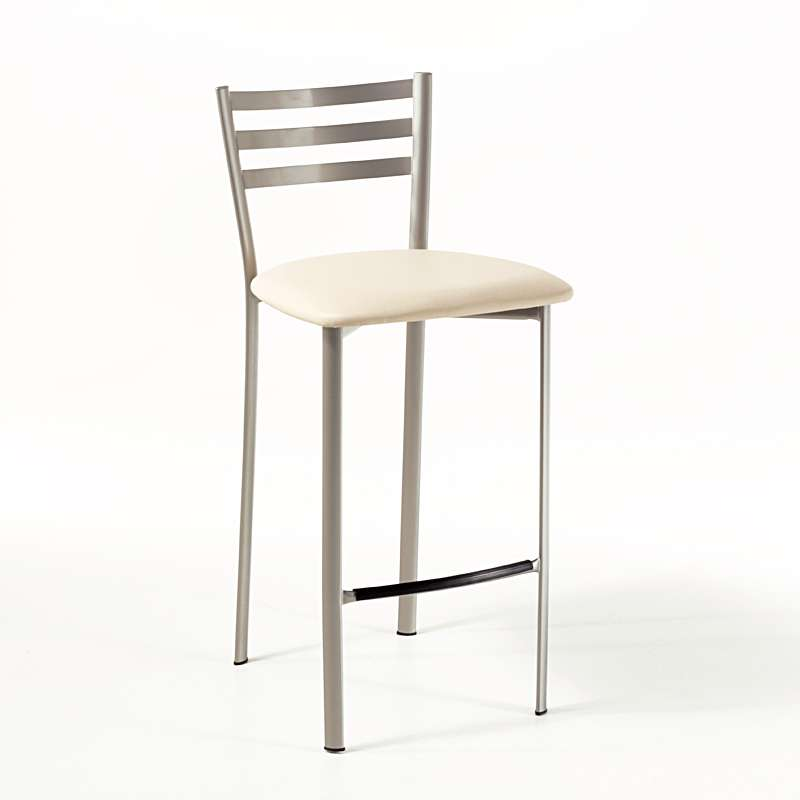 tabouret snack en m tal 1329 4 pieds tables chaises et tabourets. Black Bedroom Furniture Sets. Home Design Ideas