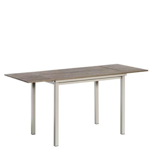 Table de cuisine en stratifié avec 2 allonges latérales - Vienna