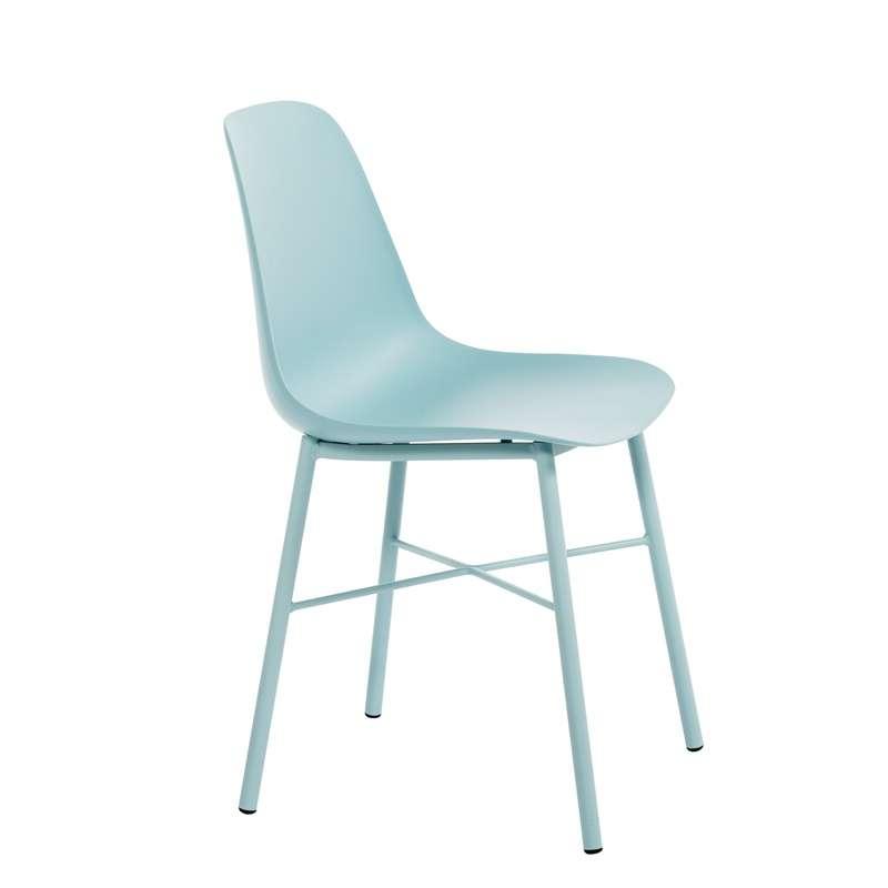 chaise de cuisine moderne en polypropyl ne cloe 4 pieds. Black Bedroom Furniture Sets. Home Design Ideas