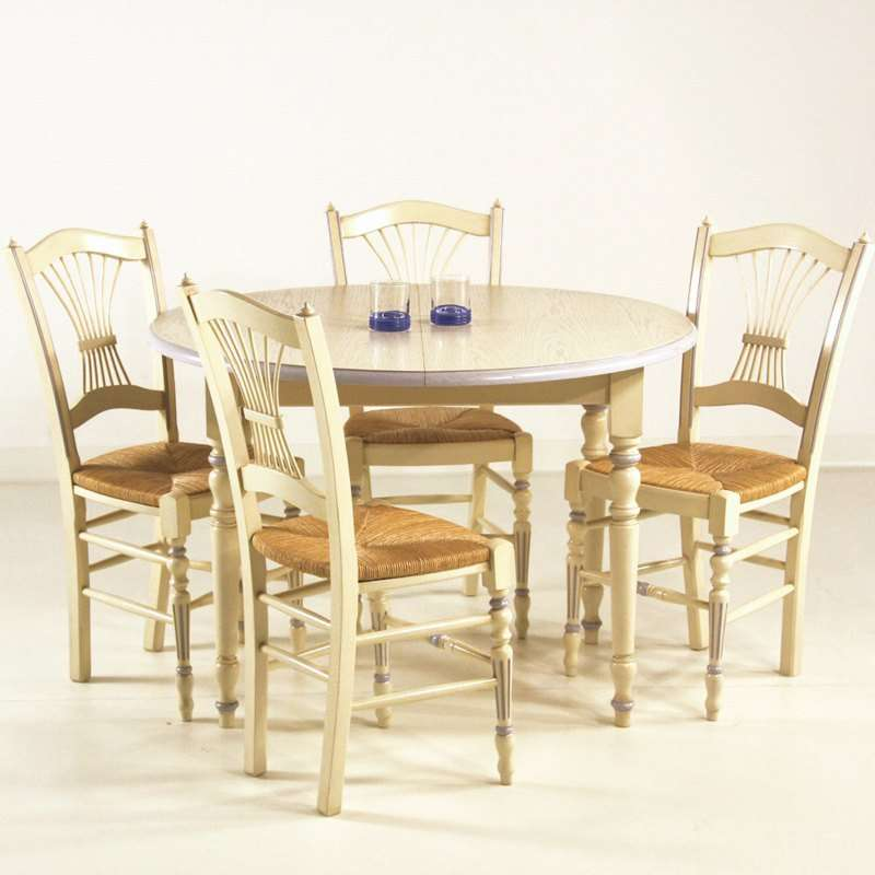 Table rabattable cuisine paris table ronde avec 4 chaises for Ensemble table ronde 4 chaises