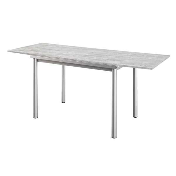 Table de cuisine en stratifi basic avec rallonges 4 - Table avec tabouret cuisine ...