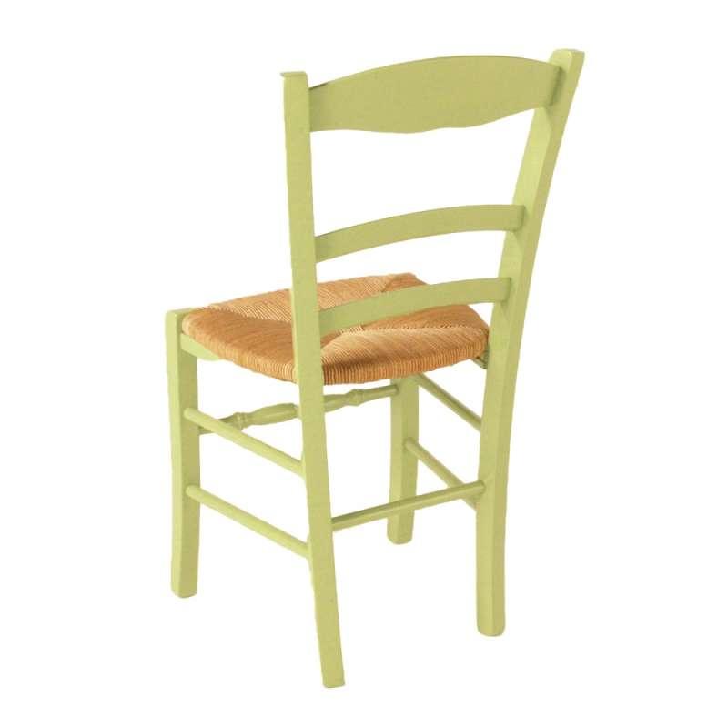 Chaise en paille bemerkenswert peindre une chaise haus - Chaise cuisine bois paille ...