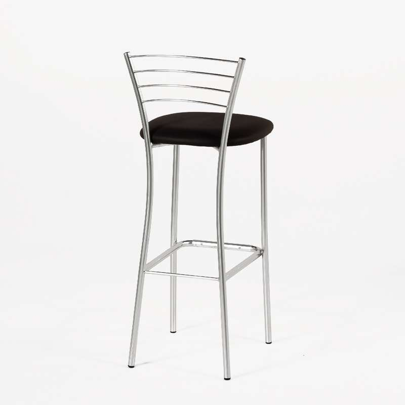 tabouret de bar de cuisine en m tal roma 4 pieds. Black Bedroom Furniture Sets. Home Design Ideas