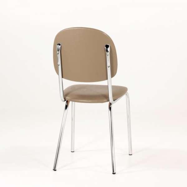 Chaise de cuisine en métal et synthétique - STR05 5 - 5