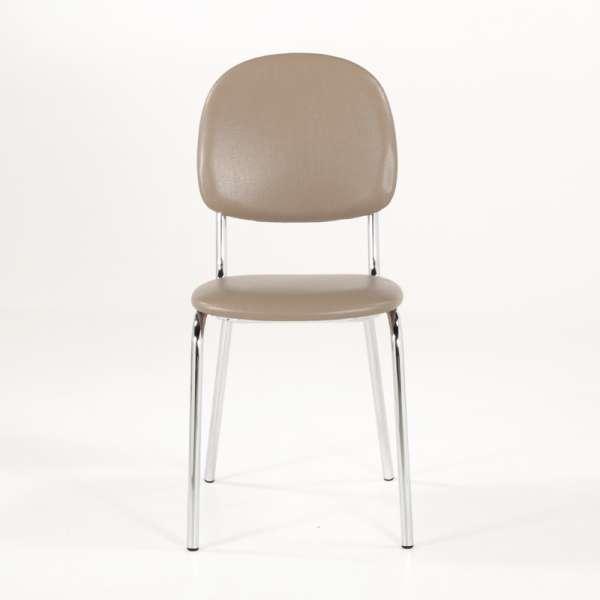 Chaise de cuisine en métal et synthétique - STR05 7 - 7