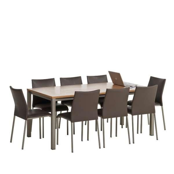 Table de cuisine rectangulaire en stratifié - Vienna 3 - 3