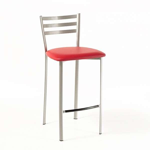 Tabouret snack en m tal 1329 4 pieds tables chaises - Tabouret hauteur 65 ...