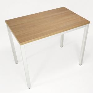 Table de cuisine extensible en mélaminé - hauteur 90 cm - Toy métal