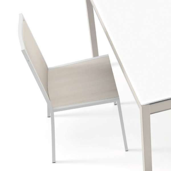 Chaise de cuisine en métal et bois Concept - 2