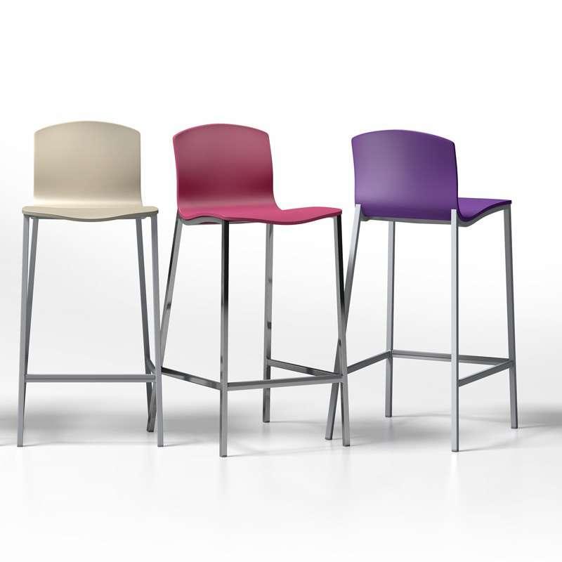 Tabouret de bar design en solde - Chaise de bar hauteur 60 cm ...