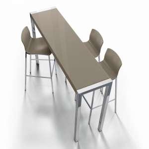 Table en verre - petit espace - hauteur 105 cm - Cumbre