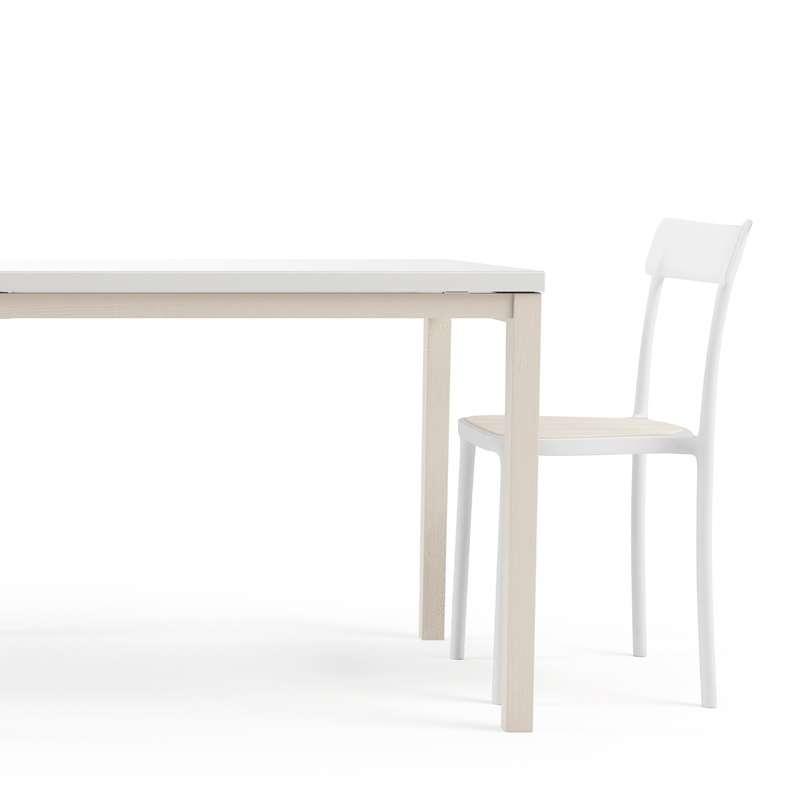 Table de cuisine en verre avec rallonge toy bois 4 for Table cuisine rallonge