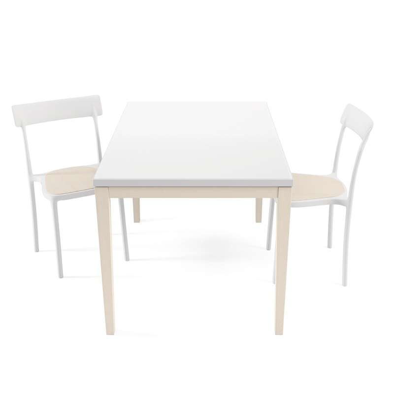 table de cuisine en verre avec rallonge toy bois 4. Black Bedroom Furniture Sets. Home Design Ideas