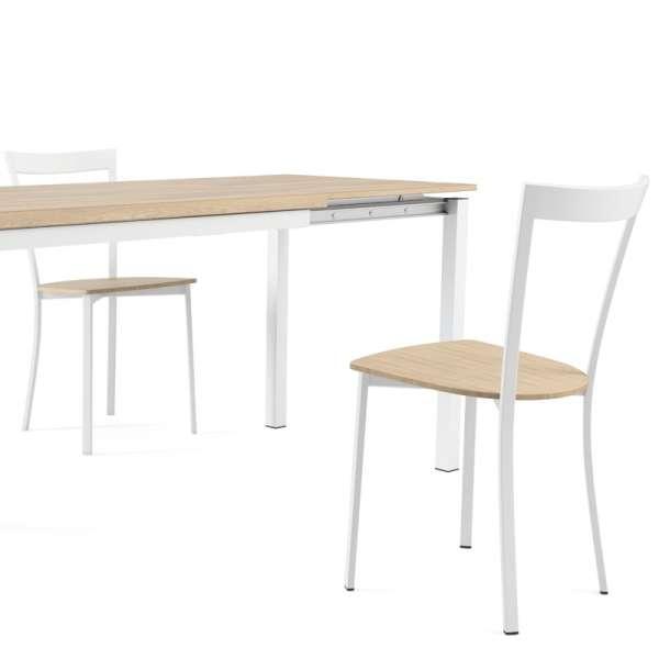Chaise de cuisine métal et bois - Spirit 3 - 3