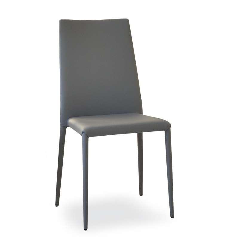 Cuisine Design Ouverte Sur Salon : Chaise contemporaine en vinyl  Bea  4 Pieds  tables, chaises et
