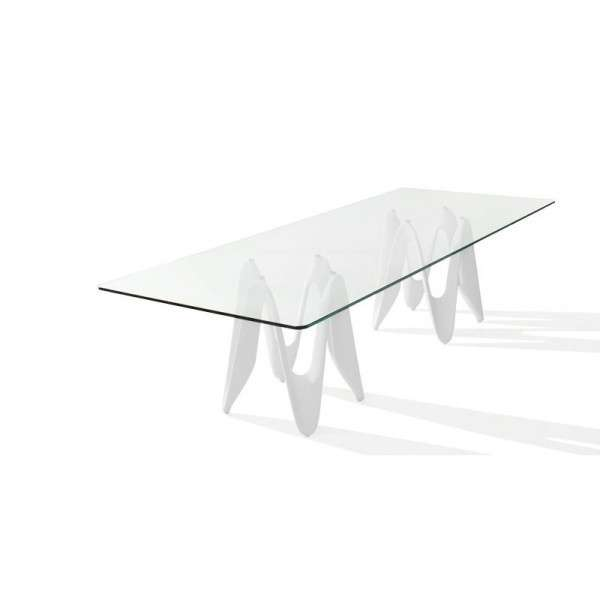 Table en verre design - 320cm x 120cm - Lambda Sovet® 3 - 3
