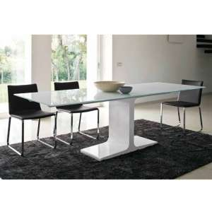 Table design extensible en verre - Palace Sovet® 3