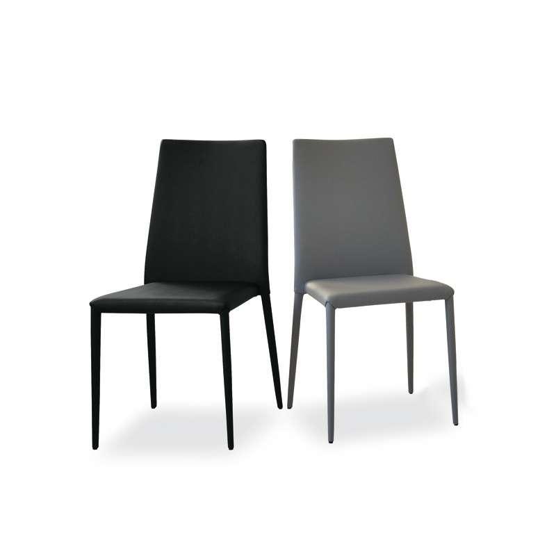 Chaise contemporaine en vinyl  Bea  4 Pieds  tables, chaises et