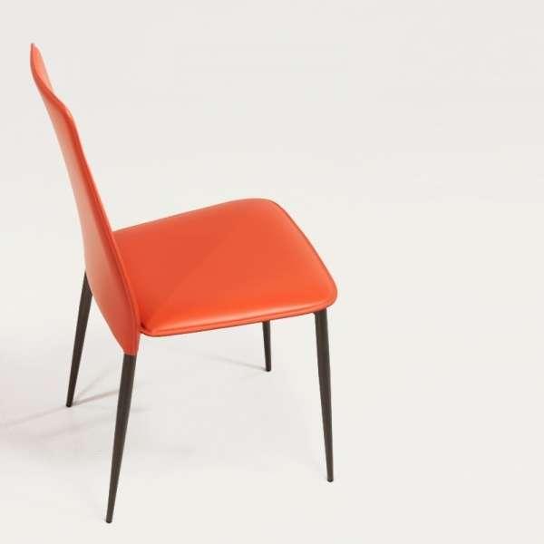 Chaise en croûte de cuir -  Ely-Plus 8 - 7