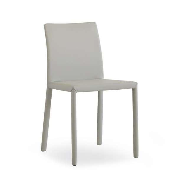 Chaise en croûte de cuir ou synderme - Kiris 7 - 9