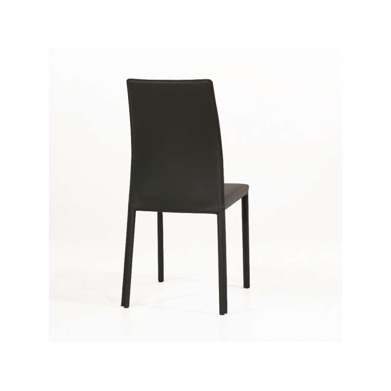 Chaise de salle manger en cro te de cuir ou synderme for Chaise de salle a manger trackid sp 006