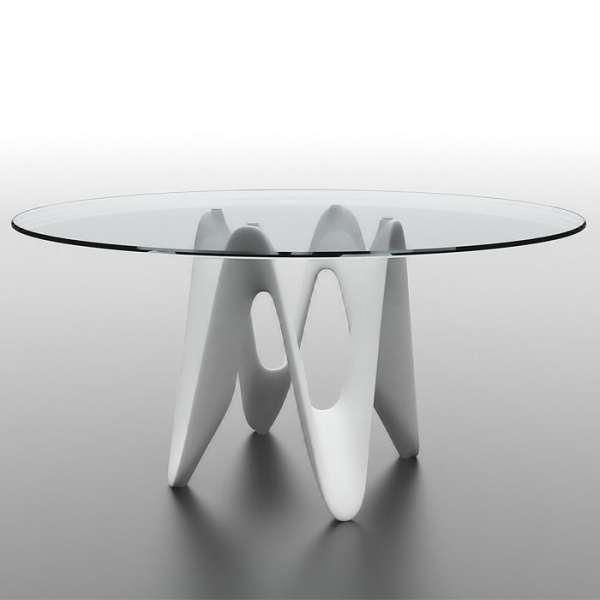 Table ronde design en verre - Lambda Sovet® 8 - 8