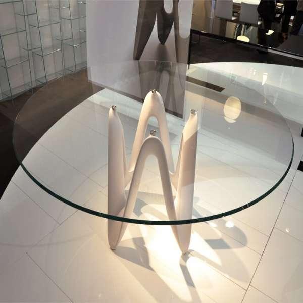 Table ronde design en verre - Lambda Sovet® 10 - 10