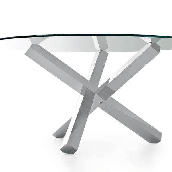 Table en verre design ronde - Aikido Sovet® 3 - 6