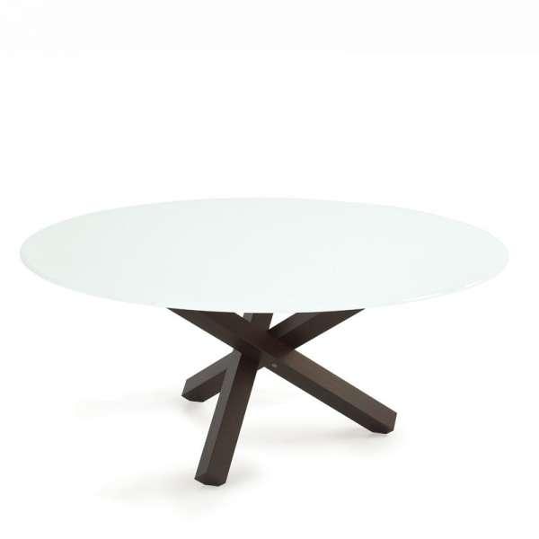 Table en verre design ronde - Aikido Sovet® 4 - 7