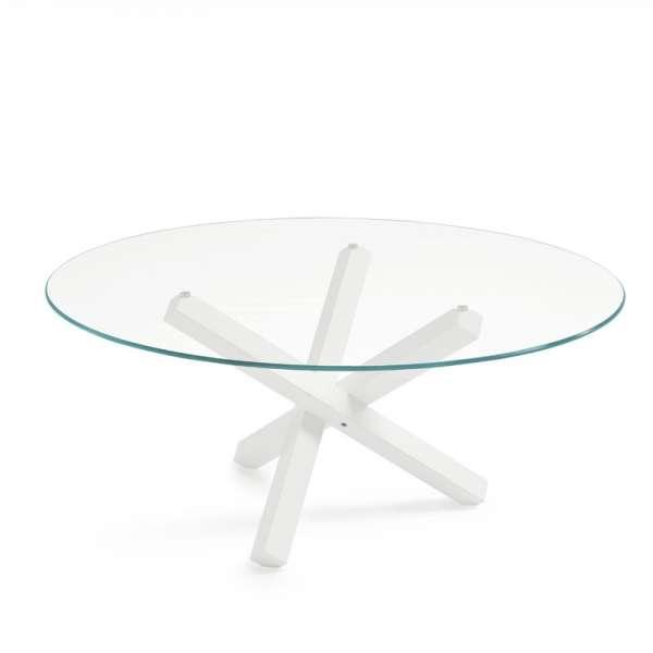Table en verre design ronde - Aikido Sovet® 5 - 8