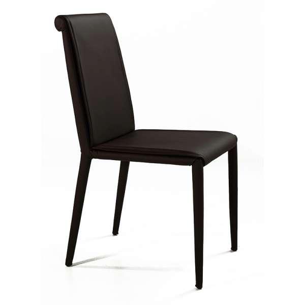 Chaise en cuir - Cinthia 2 - 2