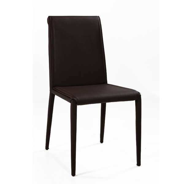 Chaise en cuir - Cinthia 5 - 5