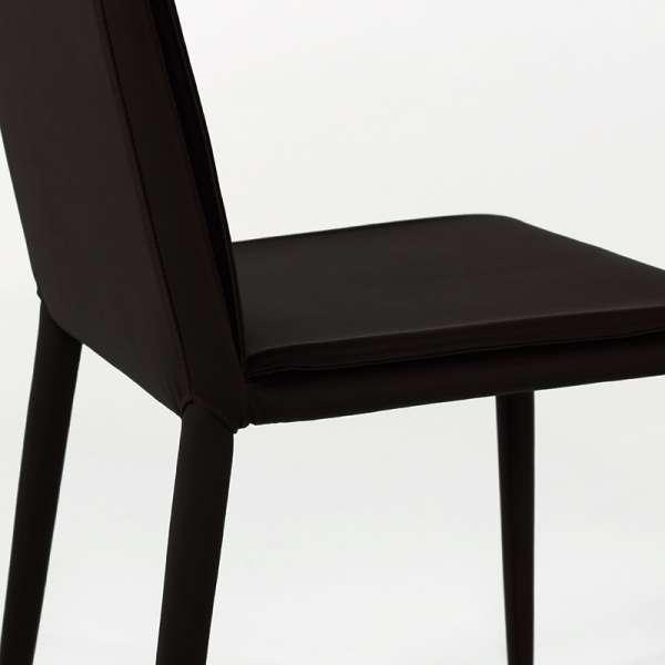 Chaise en cuir - Cinthia 12 - 12