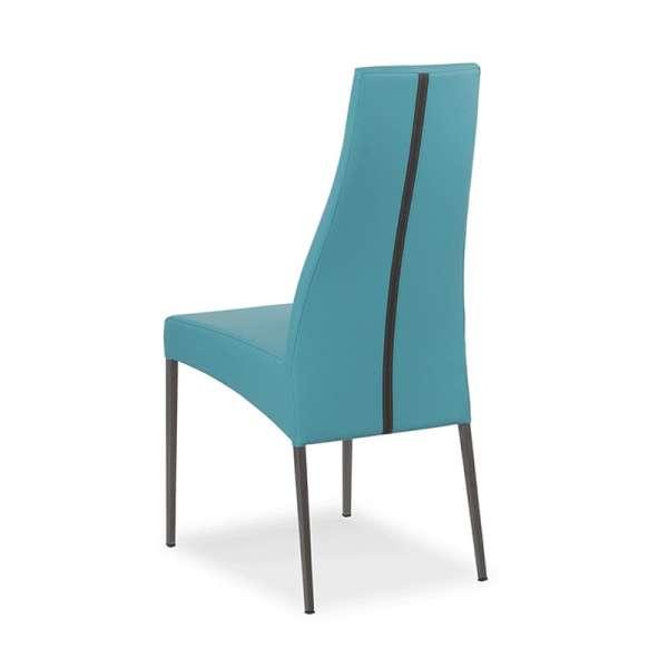 Chaise de salle à manger en vinyl - Carla 2 - 2