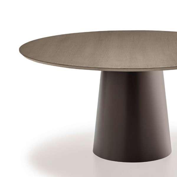 Table design plateau bois - Totem Sovet® 2 - 4