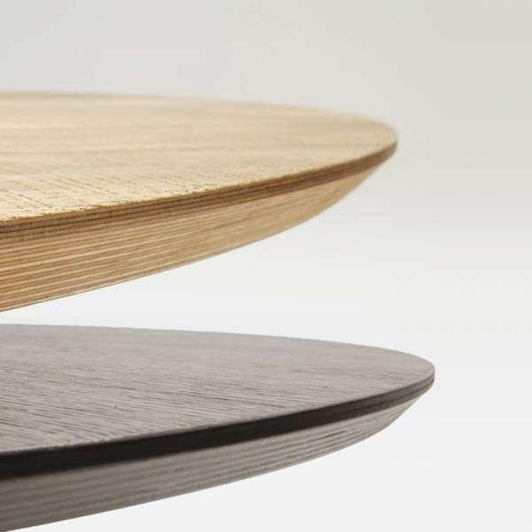 Table design plateau bois - Totem Sovet® 5 - 6