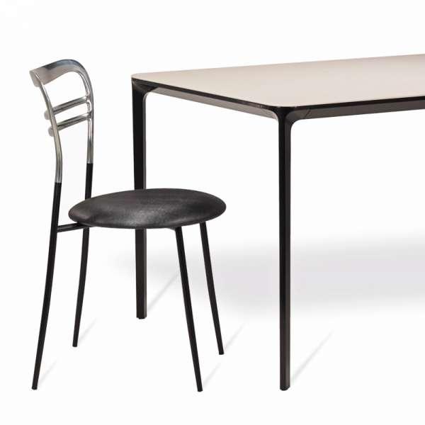Table en céramique design extensible -  Slim Sovet® 3 - 3