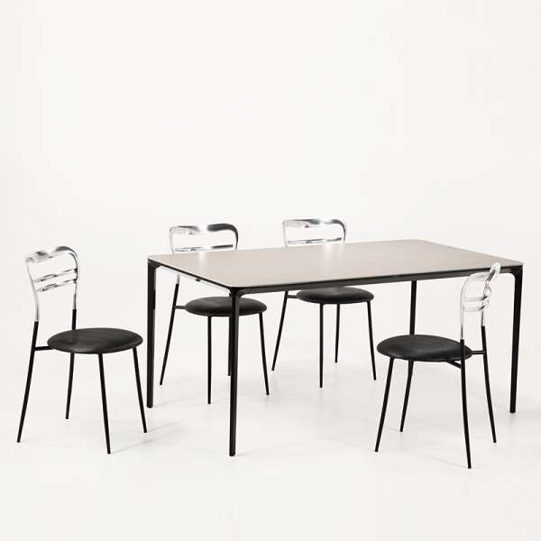 Table en céramique design extensible -  Slim Sovet® 2 - 2