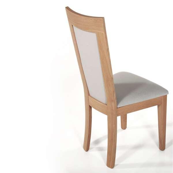 Chaise en bois et tissu rembourré - Crocus 5 - 5