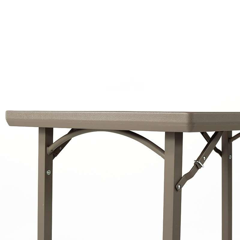 table pliante rectangulaire en plastique xl premium 4. Black Bedroom Furniture Sets. Home Design Ideas