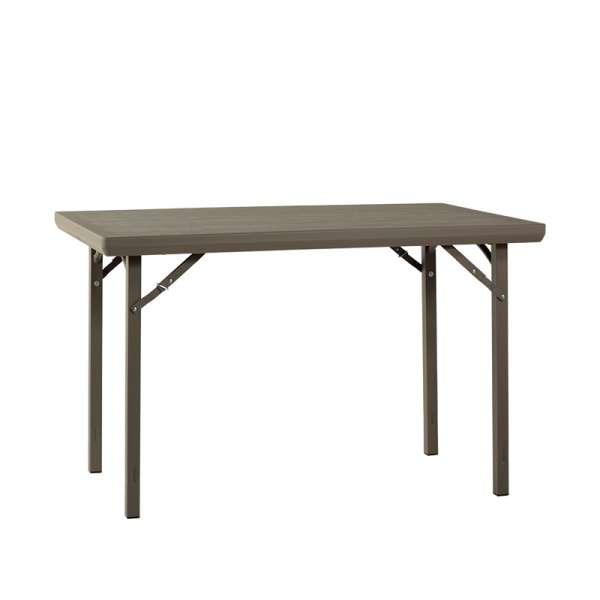 table pliante rectangulaire en plastique xl premium 4 pieds tables chaises et tabourets. Black Bedroom Furniture Sets. Home Design Ideas